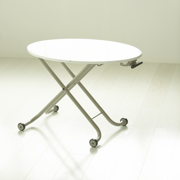 丸テーブル(高さ調整可)